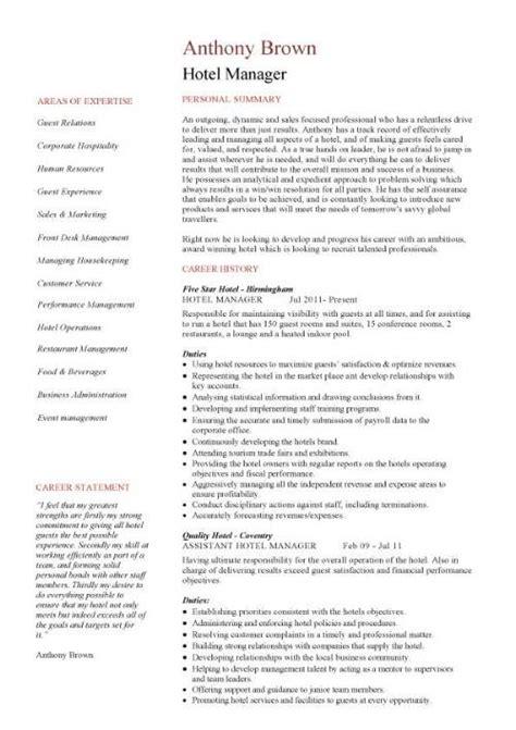 Resume samples hospitality damn good resume guide jpg 500x708